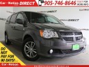 Used 2014 Dodge Grand Caravan 30th Anniversary| NAVI| DVD| LEATHER-TRIMMED SEATS for sale in Burlington, ON