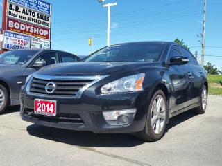 Used 2014 Nissan Altima 2.5 SL/NAV/LEATHER/SUNROOF for sale in Brampton, ON