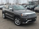 Used 2016 Jeep Grand Cherokee Summit**ADAPTIVE CRUISE CONTROL **TRAILER TOW GROU for sale in Mississauga, ON