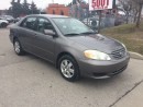 Used 2004 Toyota Corolla PW,NO ACCIDENT,SAFETY E/T+3YEARS WARRANTY INCLUDED for sale in North York, ON