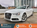 Used 2015 Audi A5 2.0T QUATTRO TECHNIK, LOCALLY DRIVEN, GREAT CONDITION, LOW MILEAGE, NO HIDDEN FEES, FREE LIFETIME ENGINE WARRANTY! for sale in Richmond, BC