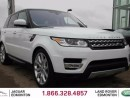 Used 2016 Land Rover Range Rover Sport 4yr/80000kms manufacturer warranty included until Feb 8, 2021! Locally Owned and Serviced | Executive Corporate Demo | Brand New Condition | Navigation | Park Assist | Reverse Traffic/Blind Spot/Closing Vehicle Sensors | Surround Camera System | Par for sale in Edmonton, AB