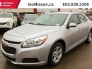 Used 2016 Chevrolet Malibu Limited Alloy Rims, Air Conditioning, Bluetooth, On Star System!! for sale in Edmonton, AB