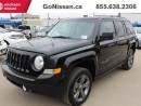 Used 2015 Jeep Patriot High Altitude - leather, Sunroof, Low KM's! for sale in Edmonton, AB