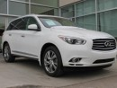 Used 2013 Infiniti JX35 TECH/LANE DEPARTURE/BLIND SPOT/AROUND VIEW MONITOR/DVD for sale in Edmonton, AB