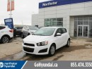 Used 2015 Chevrolet Sonic LT Auto Alloys Reverse Camera Low Kms for sale in Edmonton, AB