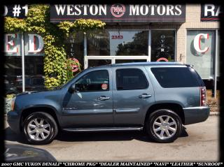 Used 2007 GMC Yukon DENALI *CHROME PKG *LEATHER *DEALER MAINTAINED for sale in York, ON
