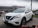 Used 2017 Nissan Murano S  FWD Low Ks  Not a Rental No Accidents  for sale in Scarborough, ON