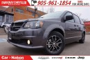 Used 2017 Dodge Grand Caravan SXT BLACKTOP|BRAND NEW| DVD| TRI-CLIMATE| REAR CAM for sale in Mississauga, ON