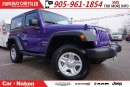 Used 2017 Jeep Wrangler SPORT| 4X4| BLUETOOTH| HARD TOP| BRAND-NEW| for sale in Mississauga, ON