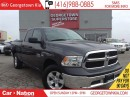 Used 2015 Dodge Ram 1500 ST | QUAD CAB | 4X4 | 5.7L V8 | ONLY 24,203 KMS | for sale in Georgetown, ON