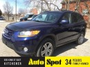 Used 2010 Hyundai Santa Fe GLS/MOONROOF/LOW, LOW KMS/LOADED/PRICED FOR A QUI for sale in Kitchener, ON