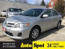 Used 2012 Toyota Corolla CE/LOW, LOW KMS/FULL LOADED! for sale in Kitchener, ON