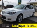 Used 2008 Mazda MAZDA3 GT *Ltd Avail*/PRISTINE VEHICLE/PRICED FOR A QUIC for sale in Kitchener, ON