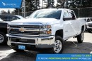 New 2017 Chevrolet Silverado 2500HD LT Satellite Radio and Backup Camera for sale in Port Coquitlam, BC