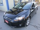 Used 2013 Ford Focus 'GREAT VALUE' LOADED TITANIUM MODEL 5 PASSENGER 2.0L - DOHC.. LEATHER.. NAV.. SUNROOF.. BACK-UP CAMERA.. HEATED SEATS.. for sale in Bradford, ON