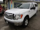 Used 2011 Ford F-150 'GREAT KM'S' WORK READY XLT MODEL 3 PASSENGER 5.0L - V8.. 4X4.. REGULAR CAB.. 8-FOOT BED.. CD/AUX INPUT.. KEYLESS ENTRY.. for sale in Bradford, ON