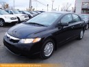 Used 2010 Honda Civic DX-G, Manual, Power Accessorie for sale in Winnipeg, MB