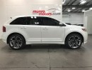 Used 2014 Ford Edge NAV Sport Platinum White 22 Wheels Panoramic for sale in St George Brant, ON
