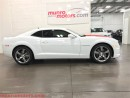Used 2011 Chevrolet Camaro 2SS White and Inferno Orange  low Kms for sale in St George Brant, ON