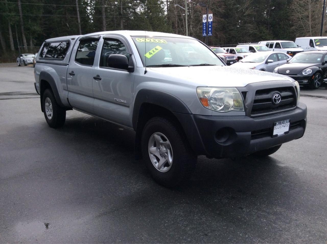 Photo of Silver 2006 Toyota Tacoma