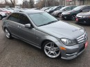 Used 2012 Mercedes-Benz C-Class C350/AWD/NAVI/BACKUPCAMERA/LEATHER/ROOF/ALLOYS for sale in Scarborough, ON