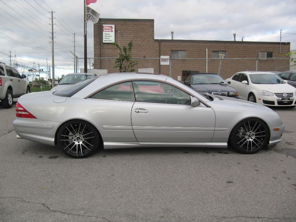Used 2002 mercedes benz cl500 for sale in newmarket for Mercedes benz cl500