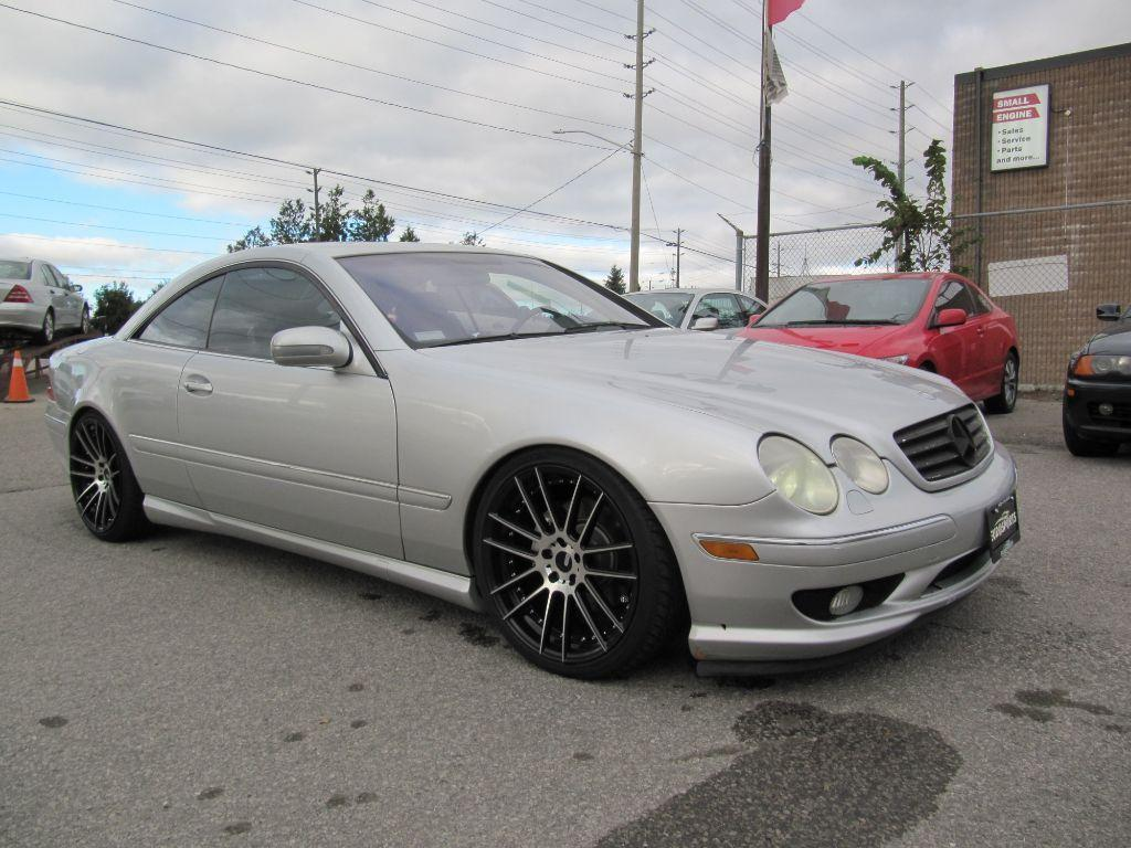 Used 2002 mercedes benz cl500 for sale in newmarket for Mercedes benz for sale ontario