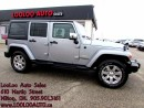 Used 2015 Jeep Wrangler Unlimited Sahara Navigation Certified 2YR WARRANTY for sale in Milton, ON