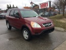 Used 2004 Honda CR-V LEATHER,AWD.AUTO,SAFETY E/T+3YEARS WARRANTY INCLUD for sale in North York, ON