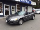 Used 2005 Chrysler Sebring Convertible for sale in Parksville, BC