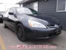 Used 2004 Honda ACCORD  4D SEDAN V6 for sale in Calgary, AB