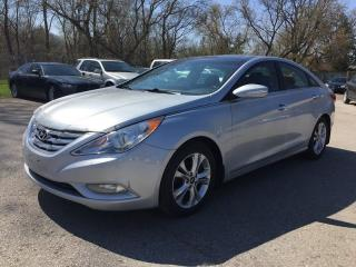 Used 2012 Hyundai SONATA LIMITED PZEV * LEATHER * SUNROOF * NAV * REAR CAM * LOW KM for sale in London, ON