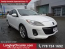 Used 2012 Mazda MAZDA3 GT W/ 6-SPEED MANUAL, LEATHER & SUNROOF for sale in Surrey, BC