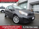 Used 2014 Kia Rio LX+ ACCIDENT FREE w/ POWER WINDOWS/LOCKS & HEATED FRONT SEATS for sale in Surrey, BC