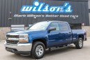 Used 2016 Chevrolet Silverado 1500 LS 4WD $111/WK,5.49% ZERO DOWN! CREW CAB! NEW TIRES! REAR CAMERA! TOUCH SCREEN! SIDE STEPS! KEYLESS! for sale in Guelph, ON