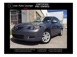 Used 2008 Mazda MAZDA3 GS - ONLY 72,000KM!! CRUISE, ALLOYS, LOADED!! for sale in Orleans, ON