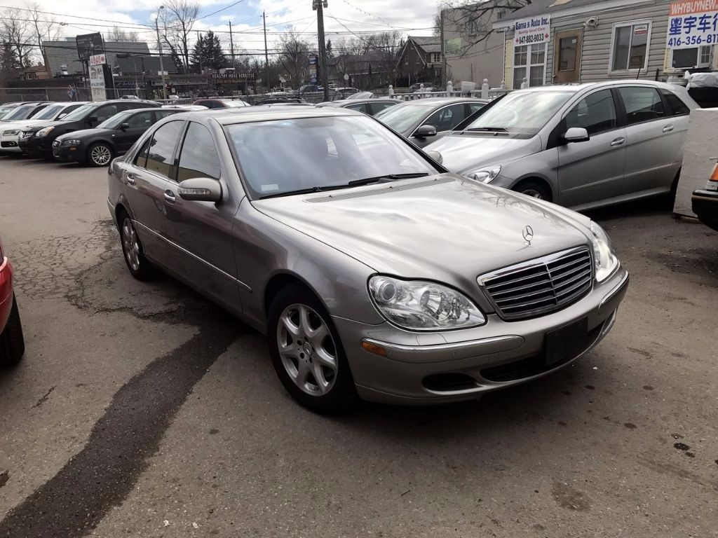 Used 2006 mercedes benz s class 4 3l 4matic for sale in for Mercedes benz scarborough