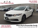 Used 2015 Honda Civic Sedan EX | LOW KM! | SUNROOF | BLUETOOTH for sale in Scarborough, ON