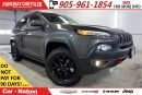 Used 2017 Jeep Cherokee TRAILHAWK+| TECHNOLOGY/SAFETY TEC GROUP| LOADED| for sale in Mississauga, ON