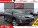 Used 2013 Toyota Highlander HYBRID Limited | NAVI | LEATHER | ROOF | AWD | BACK UP CA for sale in Georgetown, ON