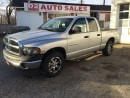 Used 2005 Dodge Ram 1500 5.7L Hemi/Low KM/Quad Cab/Certified for sale in Scarborough, ON