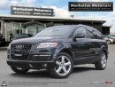 Used 2009 Audi Q7 3.6L QUATTRO S-LINE |PANO|CAMERA|7PASS|NO ACCIDENT for sale in Scarborough, ON