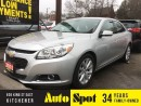 Used 2015 Chevrolet Malibu LT/LOW,LOW KMS!/INVENTORY CLEAROUT/PRICED FOR A Q for sale in Kitchener, ON