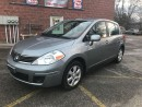 Used 2009 Nissan Versa ONE OWNER -SAFETY & E-TESTED - WARRANTY INCLUDED for sale in Cambridge, ON