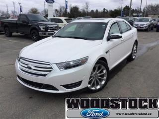 Used 2016 Ford Taurus Limited Certified PRE Owned 3.99% Interest UP TO 7 for sale in Woodstock, ON