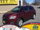 Used 2013 Chevrolet Trax LTZ for sale in London, ON