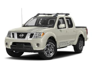 New 2017 Nissan Frontier Crew Cab PRO-4X 4x4 at for sale in Mississauga, ON