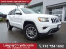 Used 2016 Jeep Grand Cherokee Limited ACCIDENT FREE w/ ADVANCED TECHNOLOGY GROUP, NAVIGATION & LEATHER for sale in Surrey, BC