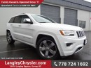 Used 2016 Jeep Grand Cherokee Overland ACCIDENT FREE w/ 4X4, LEATHER & PANORAMIC SUNROOF for sale in Surrey, BC